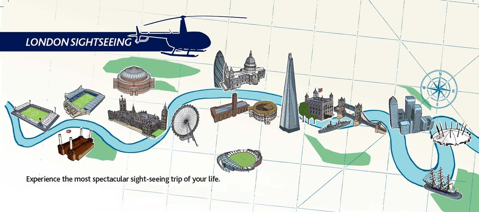 Sightseeing Map London